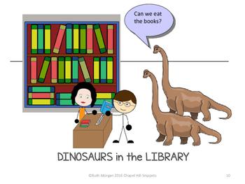 Dinosaur Activity/Literacy Packet-Special Education/SLP Collaboration
