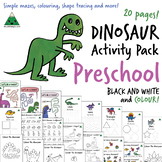 Dinosaur Activity Pack - Preschool