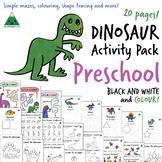 Dinosaur Activity Pack - Preschool