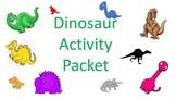 Dinosaur Activity Packet
