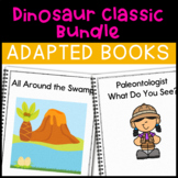Dinosaur Bundle: 2 Adapted Books for Early Childhood Special Education