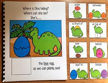 "Dinosaur Adapted Book:  ""Where is Dina Hiding?"""