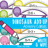 Dinosaur Add Up - Math Center