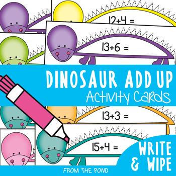 Dinosaur Add Up - Math Center