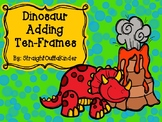 Dinosaur Adding Ten-Frames