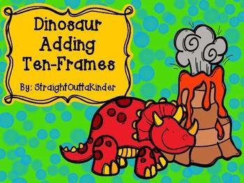Dinosaur Adding Ten-Frames
