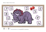 Dinosaur Addition Roll and Cover