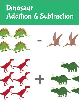 Dinosaur Addition and Subtraction