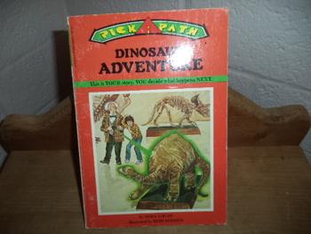 Dinosaur Adventure  ISBN 0-590-33049-7