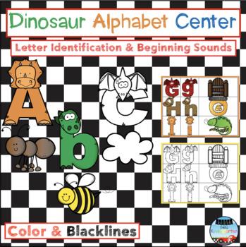 Dinosaur Alphabet Center
