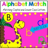 Dinosaur Alphabet Letter Recognition PowerPoint Show Dista