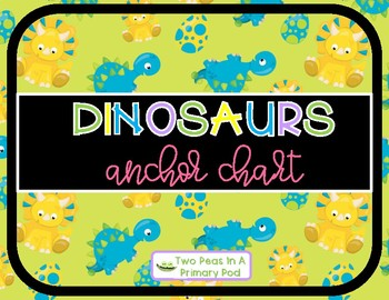 Dinosaur Anchor Chart