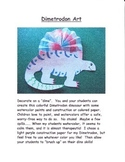 Dinosaur Art:  Dimetrodon Project