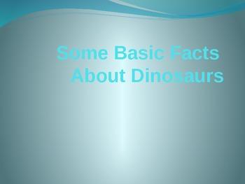 Dinosaur Basics