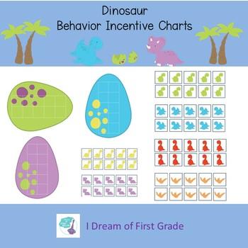 Dinosaur  Behavior Incentive Charts