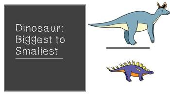 Dinosaur: Biggest to Smallest