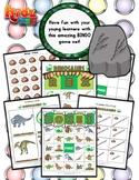 Dinosaur Themed Vocabulary | Matching Activities