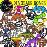 Dinosaur Bones {Creative Clips Clipart}