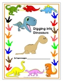 Digging into Dinosaurs Book