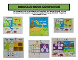 Dinosaur Book Companion, Speech and Language Therapy (Target Dollar Spot)