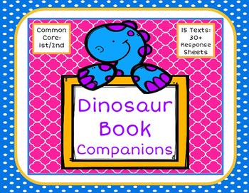 Dinosaur Book Companions: 30 Fiction and Nonfiction Response Sheets