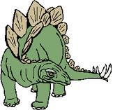 Dinosaur Book Labels