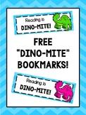 Dinosaur Bookmarks - FREEBIE!