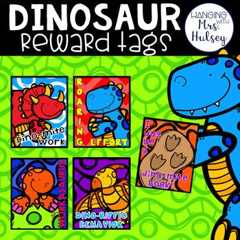 Dinosaur Brag Tags