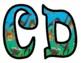Dinosaur Bulletin Board Alphabet Letters