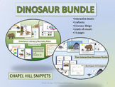 Dinosaur Bundle--great for SLP and Special Education/Autism