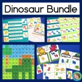 Dinosaur Activities Reading and Math Bundle