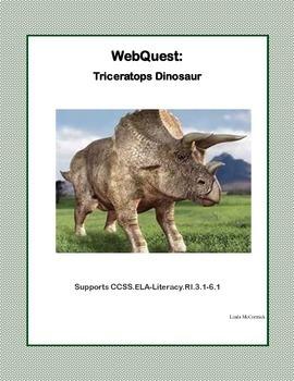 Dinosaur Bundle-An Amazing Collection of 5 WebQuests