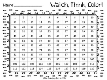 Dinosaur Bundle Watch, Think, Color Games - EXPANDING BUNDLE