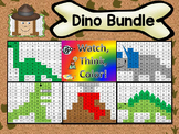 Dinosaur Bundle Watch, Think, Color Games - EXPANDING BUNDLE