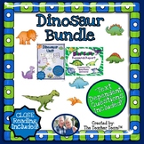 Dinosaur Bundle with Text Dependent Questions for CLOSE Reading