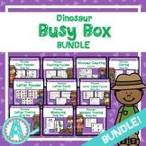 Dinosaur Busy Boxes **BUNDLE**