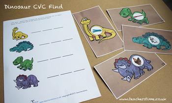 Dinosaur CVC Find