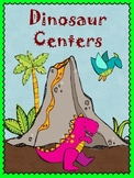 Dinosaur Centers - Synonyms, Antonyms, ABC Order, Addition, Subtraction, & Money