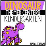 Dinosaur Centers for Kindergarten