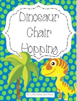 Dinosaur Chair Hopping Activity