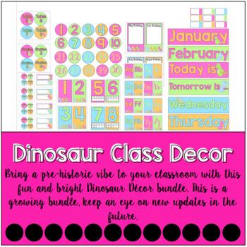 Dinosaur Classroom Decor