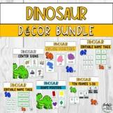 Dinosaur Classroom Decor Bundle
