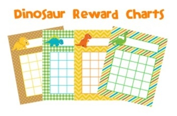 Dinosaur Classroom Incentive Reward Charts