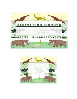 Dinosaur Classroom Theme Pack