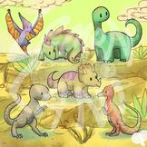 Dinosaur Clip Art