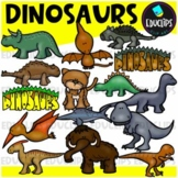 Dinosaur Clip Art Bundle {Educlips Clipart}