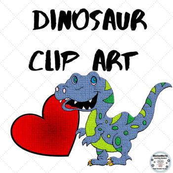 Dinosaur Clip Art (Classroom & Commercial Clipart)