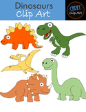 Dinosaurs {Clip Art + Board Game}