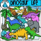 Dinosaur Clip Art Set - Chirp Graphics