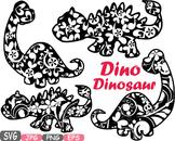 Dinosaur Clip Art prehistoric invitations party fossil animals baby dino -459S
